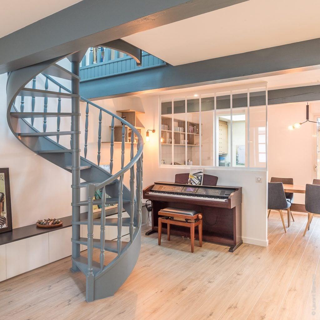 Escalier salon Au Masculin