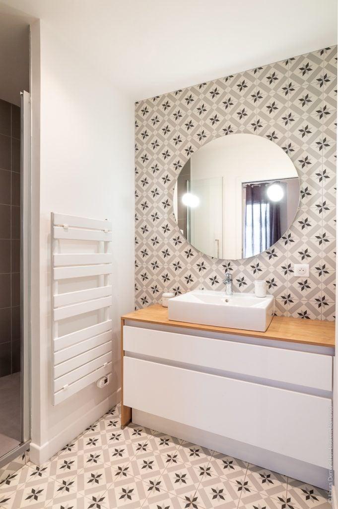 Salle de bains suite parentale Mise en beauté
